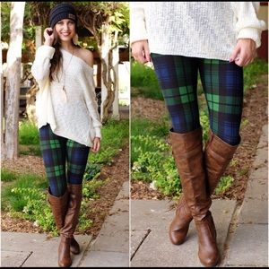 Pants - Pretty Plaid Leggings